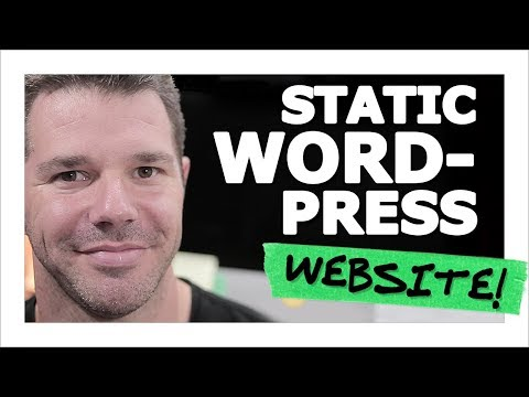 """""""How To Create A Website (Not A Blog) With WordPress"""" by Geoff Blake, TenTonOnline.com"""