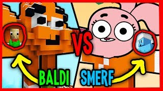 BALDI VS ISMERFIQ | NIESAMOWITY ŚWIAT GUMBALLA