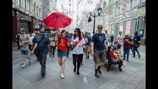 Улица Никольская стала самой популярной улицей у иностранных болельщиков