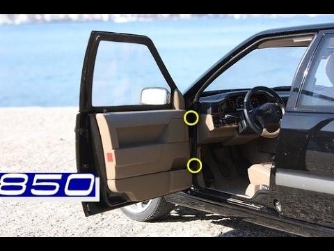 Замена дверной петли  на Volvo 850