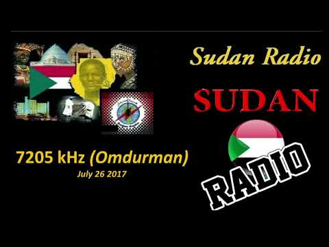 Sudan Radio -7205 kHz Omdurman (Sudan) - July 26 2017