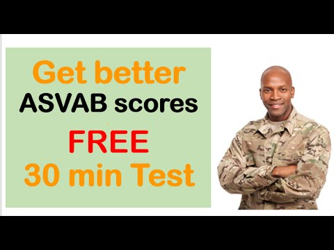 INCREASE your ASVAB SCORES   Get better asvab scores, FREE practice test