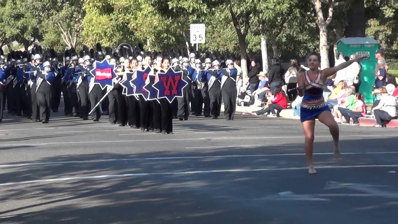 Tulare Western Mustang Band and Colorguard - Parade Competition ...