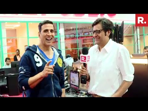 Arnab Goswami's 10 Questions To Akshay Kumar | Exclusive Interview