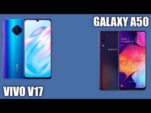 Vivo V17 Vs Samsung Galaxy A50. 🤷‍♀️ Стоит сравнить?
