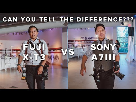 SONY A7III vs FUJI XT3 - Can YOU tell the difference?