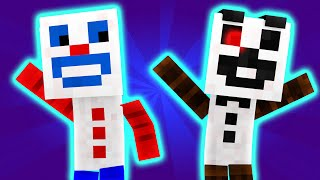FNAF World - Night 3 - Paper Pals (Minecraft Roleplay) [Part 1]