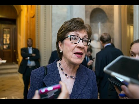 Senator Susan Collins Holds News Conference on Obamacare Replacement Plan ✔