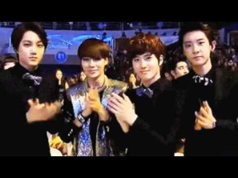 Taemin and EXO at the 22nd Seoul Music Award