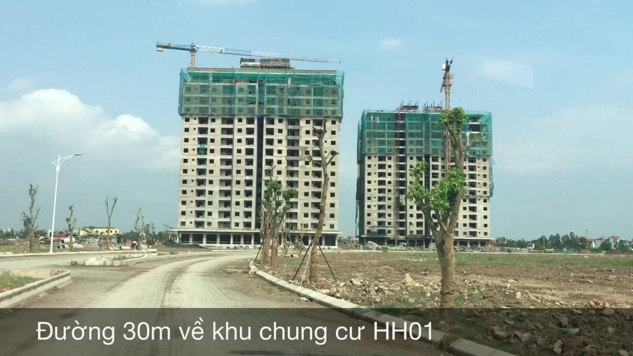 Khu đô thị Thanh Hà tháng 5 năm 2017