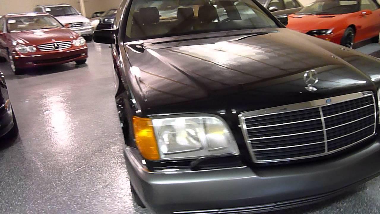 1993 Mercedes Benz 600sel 4dr Sedan Sold 2282 Plymouth