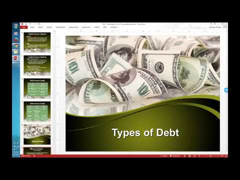 Debt & Equity Financing + Cost of Capital