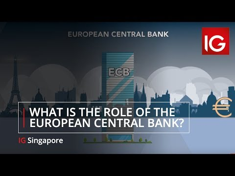 What is the role of the European Central Bank? | IG Singapore