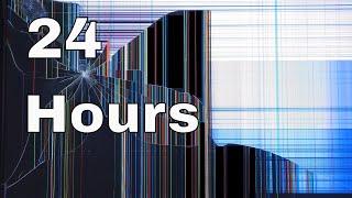 24 Hour Prank Cracked Screen Background Video screenshot 1