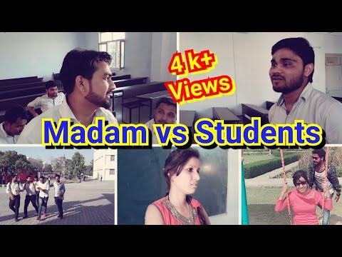Class Room | Madam vs Students | CE | Vines | 2018 must watch