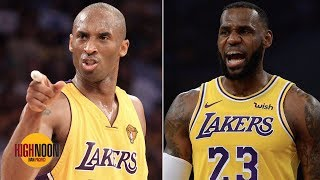 Kobe Bryant and LeBron James aren't in the same discussion - Bomani Jones | High Noon