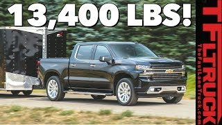 Breaking News: 2020 Chevy Silverado Outguns the Ford F-150 With New Class-Leading Towing Capacity!