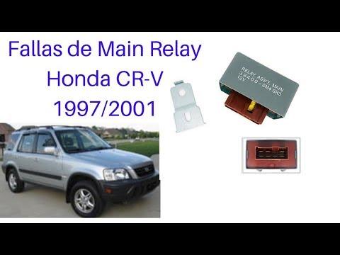 FALLAS COMUNES EN HONDAS CR-V 1997/2001