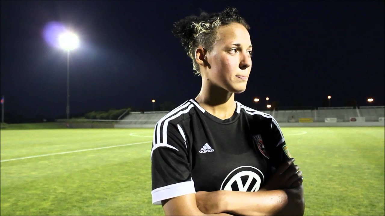 Lianne sanderson dc united women 7 7 2012 youtube for P kitchen dc united