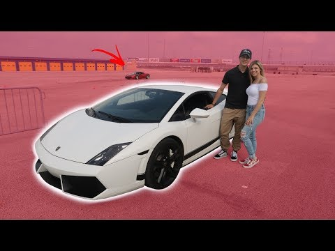 WE GOT TO DRIVE OUR DREAM CARS!!
