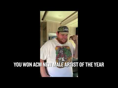 Carson - Carrie Underwood Calls Luke Combs To Tell Him He Won an ACM [VIDEO]