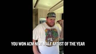 Carrie Underwood Surprises ACM New Artist of the Year Winners!