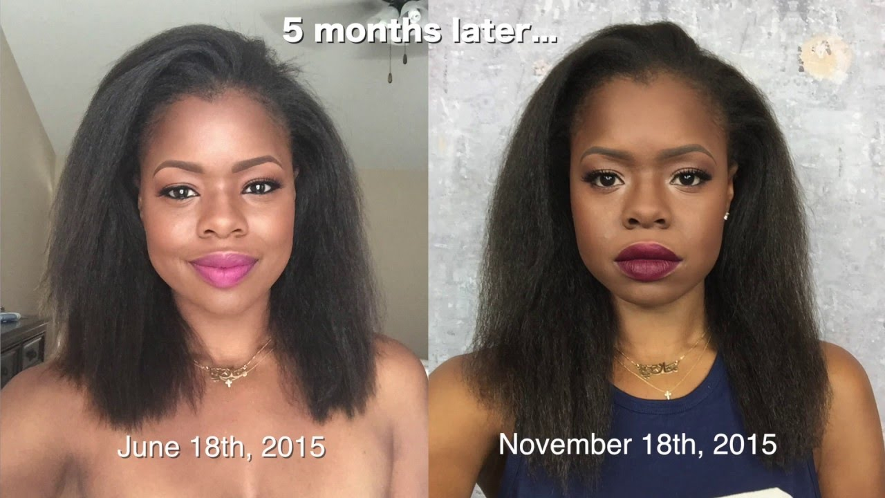 Natural hair regimen for length retention