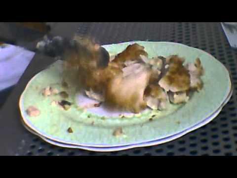 Chicken Kiev Cheese Ham As Well Youtube