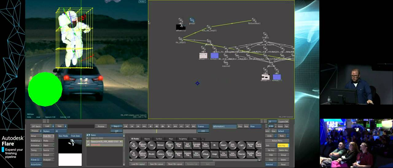 Autodesk® Flare™ - Powerful Node-Based 3D Compositing