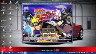 Baixando Naruto Shippuden Ultimate Ninja 5