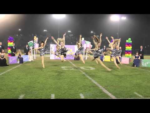 Newport Harbor Dance Team Homecoming Half Time Show 2013