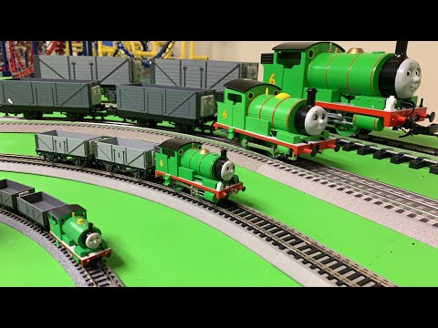 PERCY & THE TROUBLESOME TRUCKS – 4 SCALES! N, HO, O, G