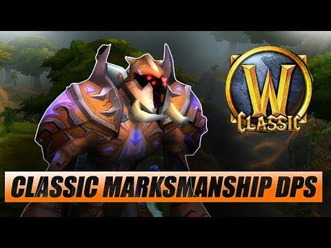 Classic WoW Marksman Hunter DPS