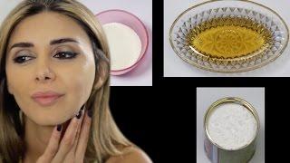 خلطة الخميرة والحليب لتسمين وتبييض الوجه