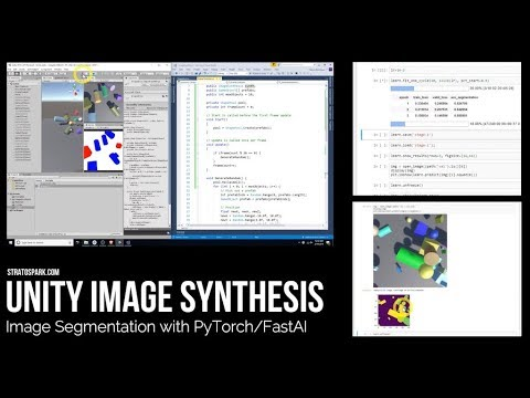 stratospark – Generating Synthetic Data for Image Segmentation with