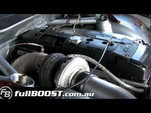 Falcon 4L turbo V8 Supercar
