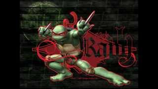 this is a video i made in tribute to my Favorite Ninja Turtle Rapha...