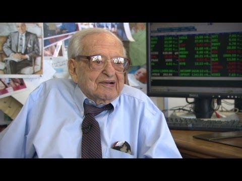 106-year-old stockbroker talks shop