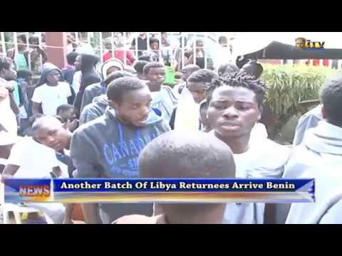 Another batch of Libya returnees arrive Benin
