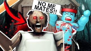 GRANNY ARRIVES TO ROBLOX and MATA TO ALL ROBLOX PLAYERS!!