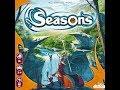 Seasons 1/2 часть - играем в настольную игру.