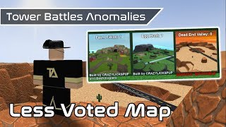 Less Voted Map | Game Anomalies | Tower Battles [ROBLOX]