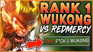 Download RANK 1 WUKONG WORLD VS. REDMERCY | THE EPIC MID LANE 1V1 (IN CHALLENGER) - League of Legends Mp3 and Videos