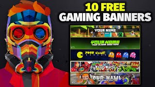 Top 10 Gaming Banner Template