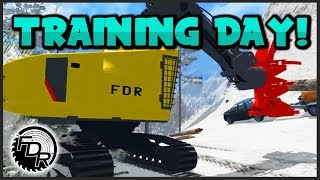 fdr logging season 4 episode 5 buncher training