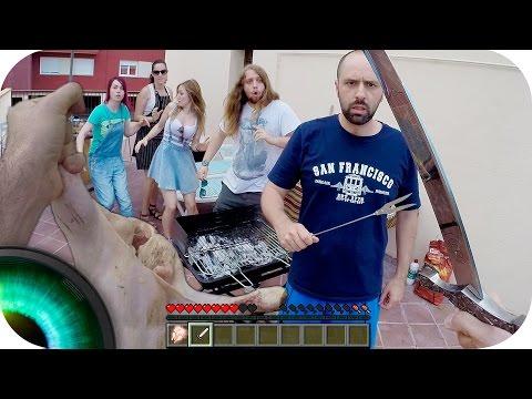 Minecraft en la VIDA REAL