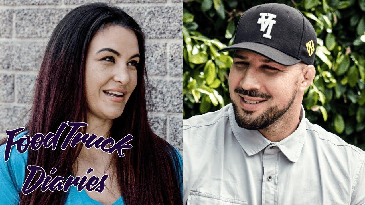 Miesha Tate | Food Truck Diaries | BELOW THE BELT with Brendan Schaub
