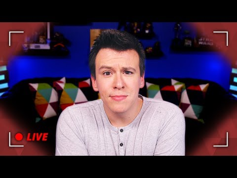 WOW! Idiot Youtuber Philip DeFranco Takes Your Qs Live... - I'll be live for about an hour or two answering any questions you have.