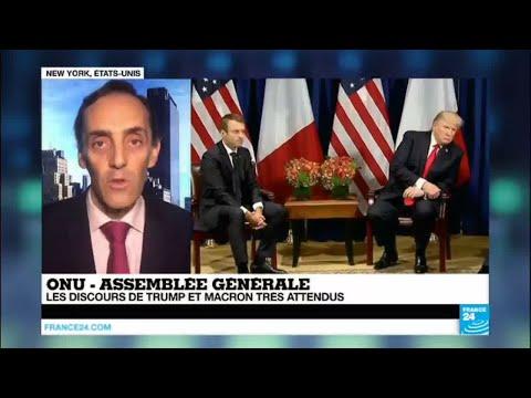 Macron et Trump attendus à l''assemblée générale de l''ONU