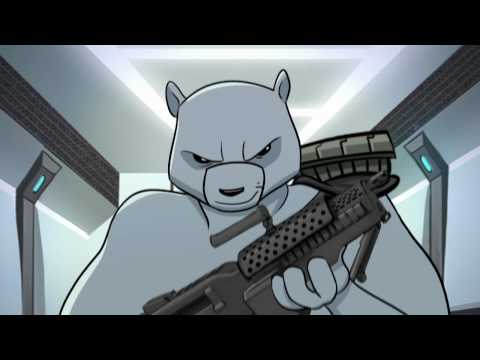 BATTLE BEARS -1 iPhone, iPod Touch, and iPad Game Trailer